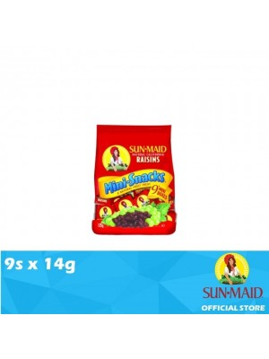 Sunmaid USA Raisins Mini Bag 9s x 14g