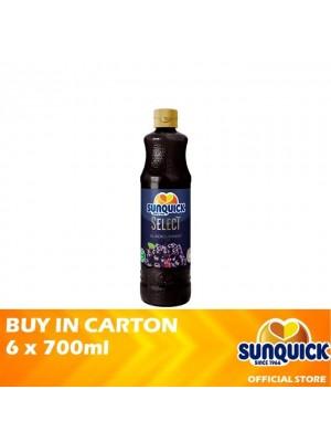 Sunquick Blackcurrant Select 6 x 700ml