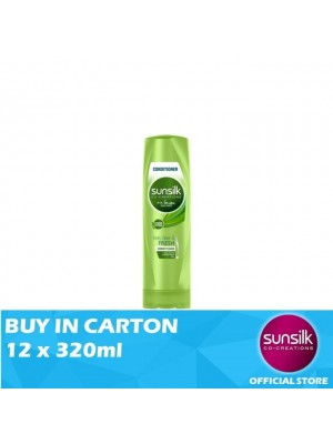 Sunsilk Hair Conditioner Clean & Fresh 12 x 320ml
