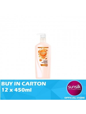 Sunsilk Natural Shampoo Almond & Honey Anti-Breakage 12 x 450ml