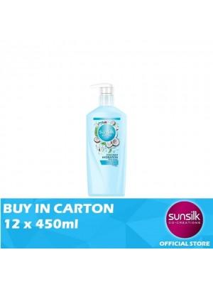 Sunsilk Natural Shampoo Coconut Hydration 12 x 450ml