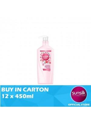 Sunsilk Natural Shampoo Sakura & Raspberry Shine & Soft 12 x 450ml