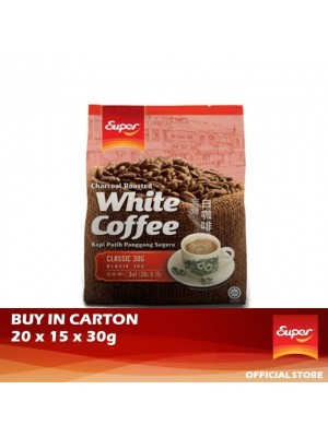 Super Charcoal Roasted White Coffee 3 in 1 - Classic 20 x 15 x 30g