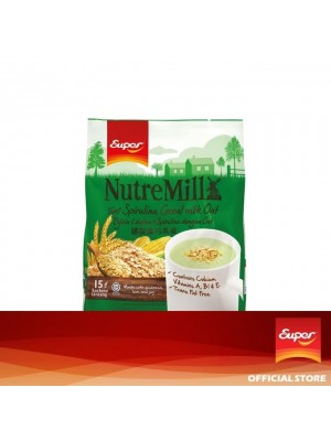 Super NutreMill 5in1 - Spirulina with Oat 15 x 35g