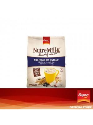 Super NutreMill SmartGrains - Wholegrain Soy Beverage Blueberry Apple Bits 12 x 35g