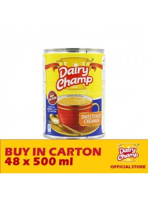 Dairy Champ Sweetened Creamer Milk 48 x 500g [Essential]