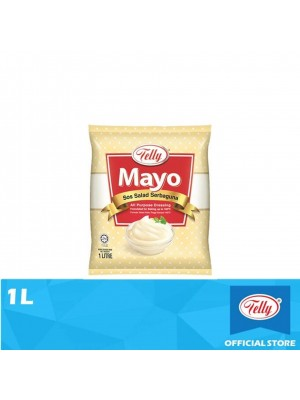 Telly Mayo All Purpose Dressing 1L