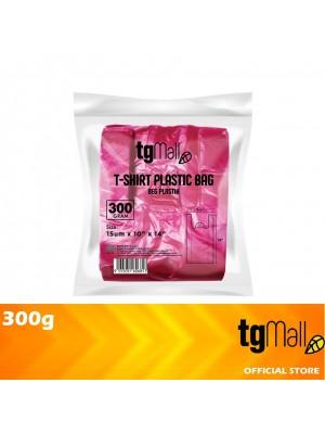 TG Mall Singlet Plastic Bag T-Shirt Bag Red 300g