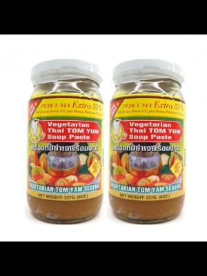 Thai Boy Brand TomYam Instant Paste Vegetarian (Extra 55%) 2x227g
