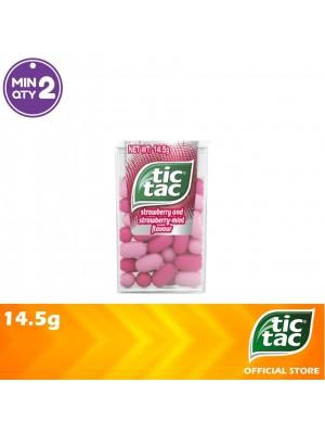 Tic Tac Strawberry & Strawberry Mint 14.5g