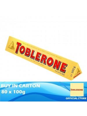 Toblerone Milk Chocolate 4 x 20 x 100g