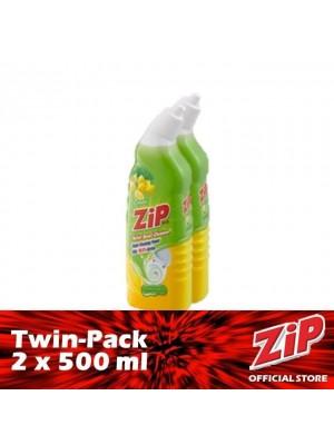 Zip Toilet Bowl Cleaner - Lemon (Twin-Pack 2 x 500ml)