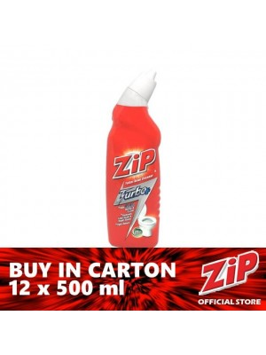 Zip Toilet Bowl Cleaner - Turbo Plus 12 x 500ml