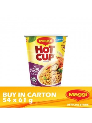 Maggi Hot Cup Tom Yam 54 x 61g