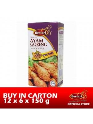 Bestari Fried Chicken Coating - Tomyam 12 x 6 x 150g