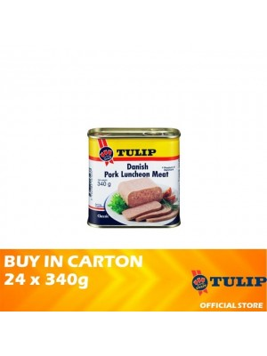 Tulip Danish Pork Luncheon Meat 24 x 340g [Non Halal]