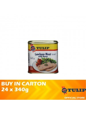 Tulip Luncheon Meat With Bacon 24 x 340g [Non Halal]