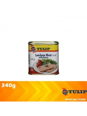 Tulip Luncheon Meat With Bacon 340g [Non Halal]