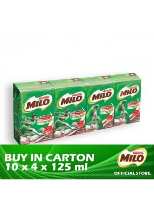 Nestle MIlo Activ-Go Original UHT 10 x 4 x 125ml