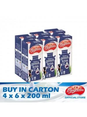 Magnolia UHT Full Cream 4 x 6 x 200ml
