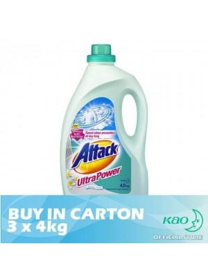 Attack Liquid Detergent Ultra Power (LATK) 3 x 4kg