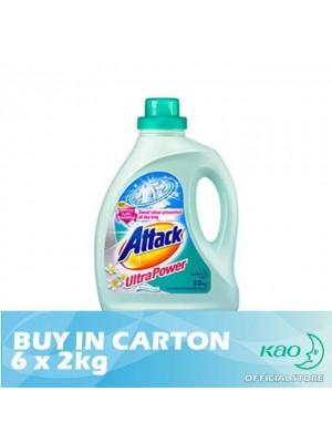 Attack Liquid Detergent Ultra Power (LATK) 6 x 2kg