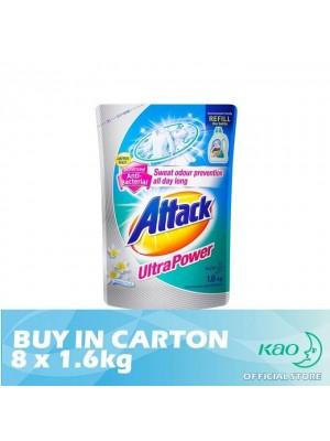 Attack Liquid Detergent Ultra Power (LATK) 8 x 1.6kg