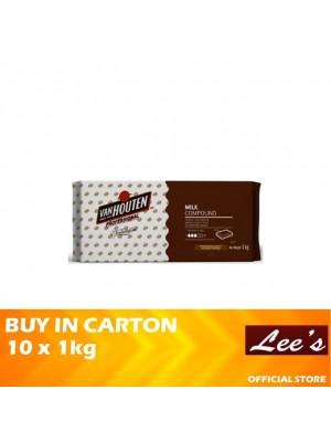 Van Houten Professional Milk Compound Block 10 x 1kg