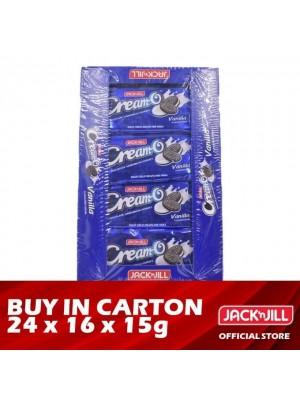 Jack 'n Jill Cream-O Vanilla Sandwich Cookies 24 x 16 x 15g