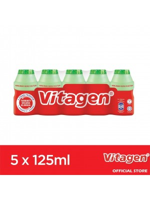 Vitagen Apple Flavour 5 x 125 ml