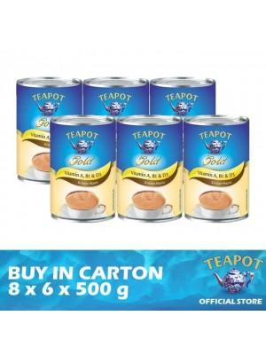 Teapot Gold Vitaminised - C 8 x 6 x 500g