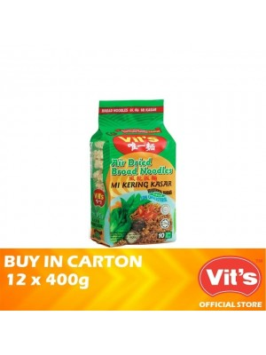 Vits Air Dried Broad Noodles 12 x 400g