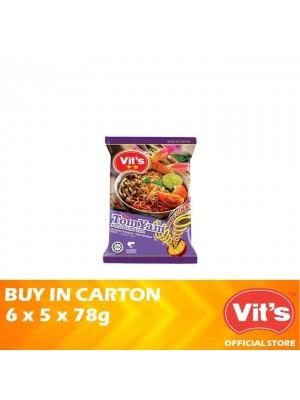 Vits Tomyam Instant Noodles 6 x 5 x 78g