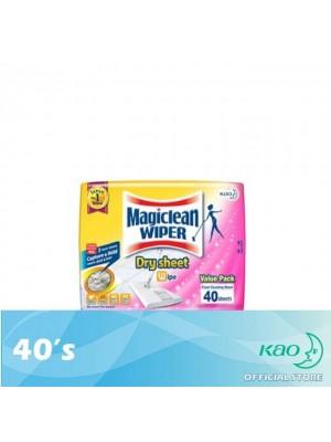 Magiclean Dry Wiper Sheet 40's