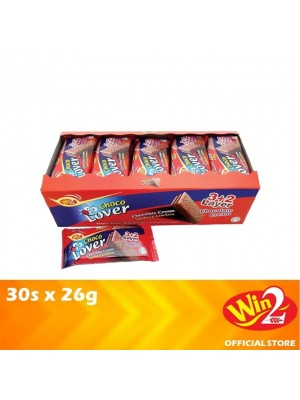 WinWin Choco Lover Chocolate Cream Sandwich Crackers 30s x 26g