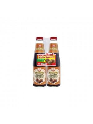 Woh Hup Shiitake Mushroom Vegetarian Oyster Flavour Sauce Twin Pack 2 x  500g