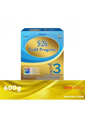 Wyeth S-26 Gold Progress Growing Up Step 3 Milk Powder 600g