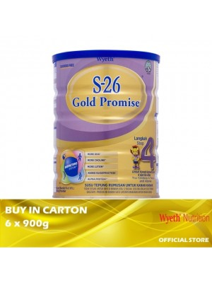 Wyeth S-26 Gold Promise Step 4 Milk Powder 6 x 900g