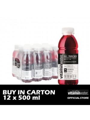 Glaceau Vitamin Water XXX-Triple Berry PET 12 x 500ml