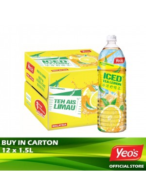 Yeo's Iced Tea Lemon Pet 12x1.5L