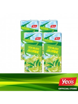 Yeo's Jasmine Green Tea Pack 4x1L