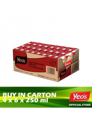 Yeo's Longan Red Date Drink Pack 4x6x250ml