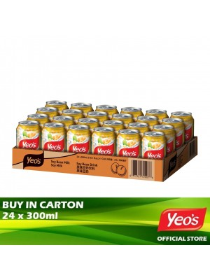 Yeo's Soya Bean CD 24 x 300ml
