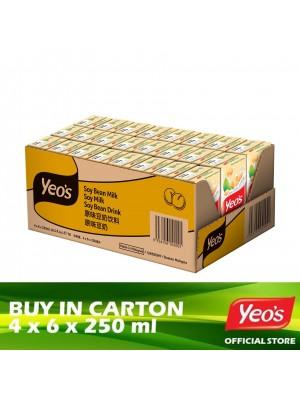 Yeo's Soya Bean TB 4 x 6 x 250ml