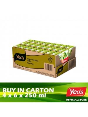 Yeo's Sugar Cane Pack 4x6x250ml