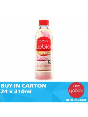 Yobick Yogurt Drink Sakura Flavour 24 x 310ml
