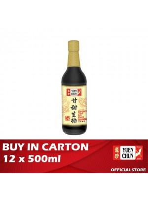 Yuen Chun Superior Light Soy Sauce 12 x 500ml