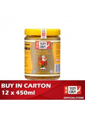 Yuen Chun Taucu Whole Bean Paste Cap Datuk 12 x 450g