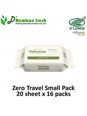 Zero Travel Small Pack 20's x 16