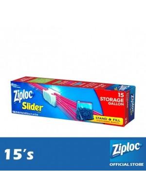 Ziploc EZ Zip Storage Gallon 15's